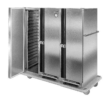 Carter-Hoffmann PH1250 Mobile Heated Cabinet with Removable Slides, 50 Pans