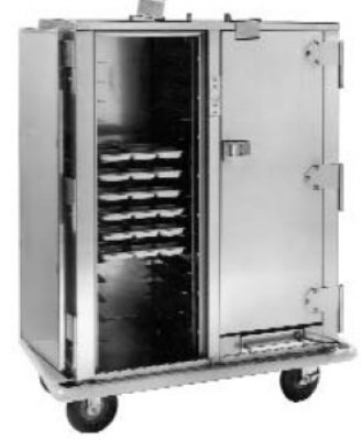 Carter-Hoffmann PH1410 Heated Cabinet with HD Correctional Features, 30 Trays