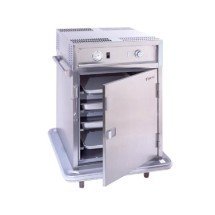 Carter-Hoffmann PH188 Mobile Heated Cabinet with HD Correctional Features, 12 Pans