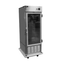 Carter-Hoffmann PHB495 Mobile Refrigerated Cabinet with Full-Height Glass Doors