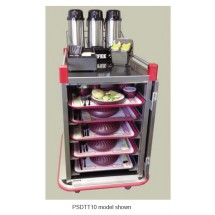 Carter-Hoffmann PSDTT14 Performance Patient Tray Cart, 14 Tray Capacity