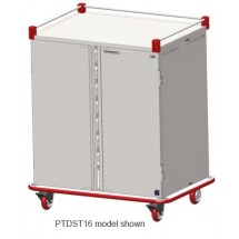 Carter-Hoffmann PTDST12 Performance Patient Tray Cart, 2-Door, 12 Tray Capacity