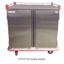 Carter-Hoffmann PTDTT20 Performance Patient Tray Cart, 2-Door, 20 Tray Capacity