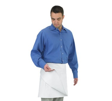 Chef Revival 603FW White Four-Way Waist Apron