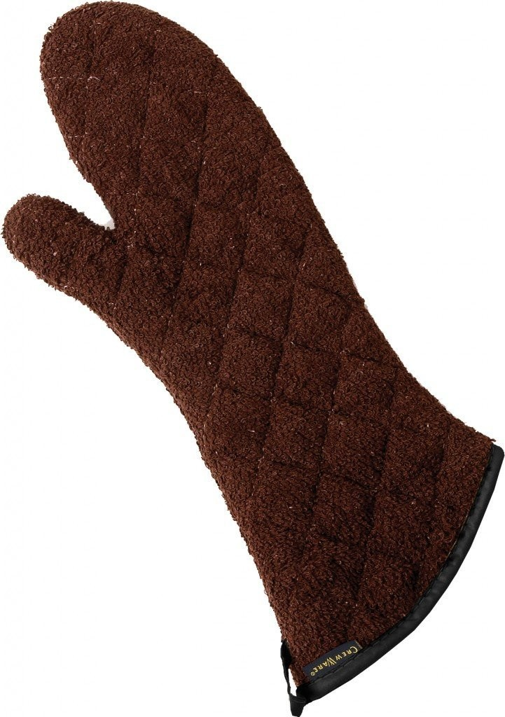 "San Jamar  817TMSB 17"" Heavy Duty Terry Cloth Oven Mitt"