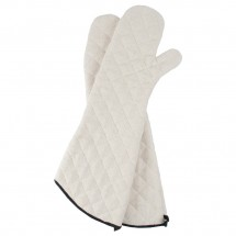 "San Jamar  824TM 24"" Heavy Duty Terry Cloth Oven Mitt"