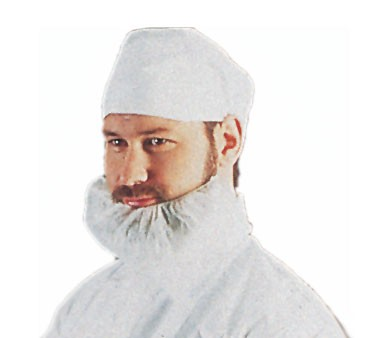 Chef Revival BC1000 Disposable White Beard Cover