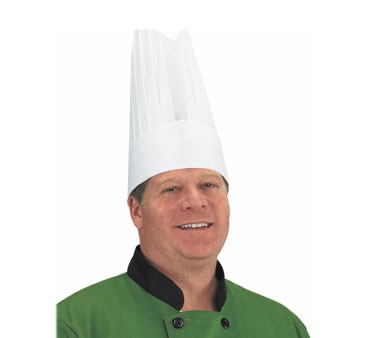 Chef Revival CHR12-P Disposable Tall Chef Hat 12""