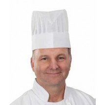 """Chef Revival H056 Corporate Dispoable Tall Chef Hat 9"""""""