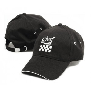 Chef Revival H064BK Cotton Black Baseball Hat