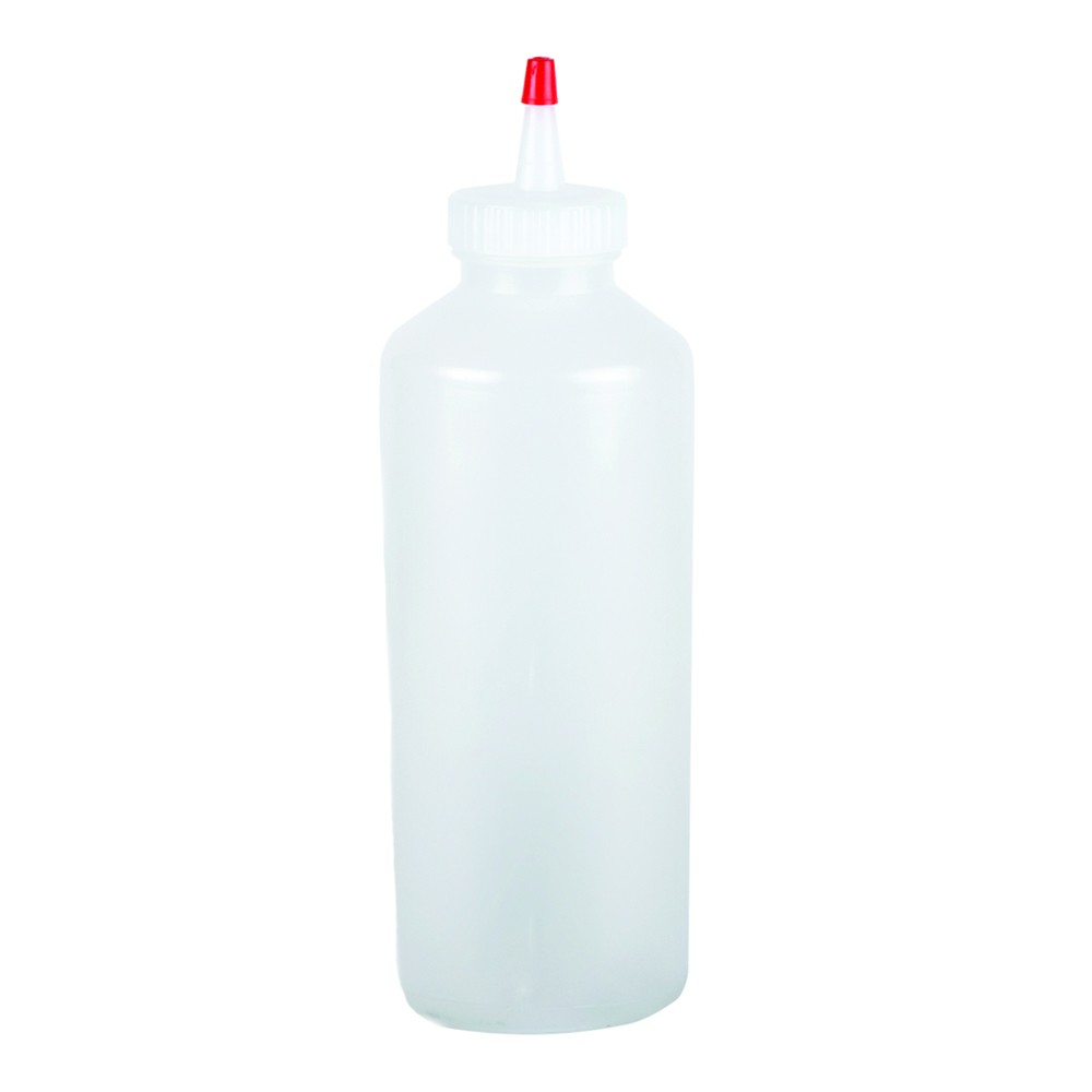 San Jamar P8024 Chef Revival Standard Clear Squeeze Bottle 24 oz.