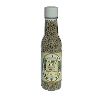 Chef Specialties 00503 Professional Series Muntok White Peppercorns Bottle 3.4 oz
