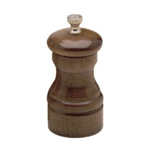 Chef Specialties 04152 Professional Series Capstan Walnut Salt Mill, 4""