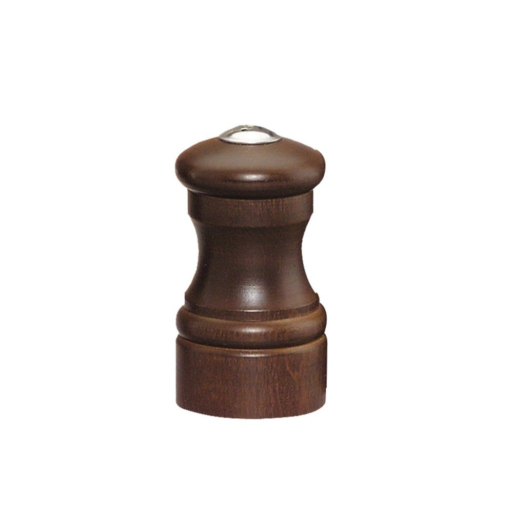 Chef Specialties 04155 Professional Series Capstan Walnut Salt Shaker, 4""