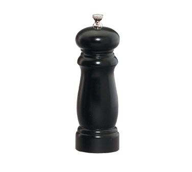 Chef Specialties 06350 Professional Series Salem Ebony Pepper Mill, 6""