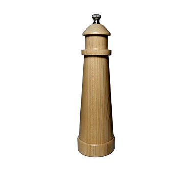 Chef Specialties 08050 Professional Series Lighthouse Natural Pepper Mill, 8 1/2""
