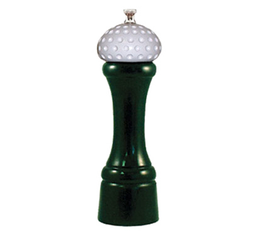 Chef Specialties 08520 Professional Series 19th Hole Forest Green Pepper Mill, 8""