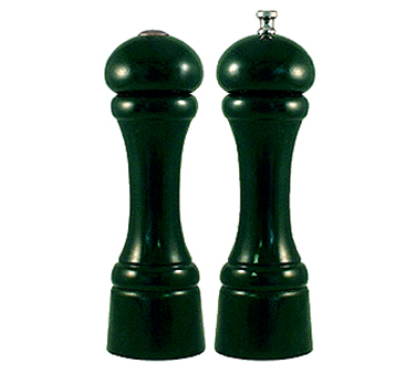 Chef Specialties 08800 Professional Series Autumn Hues Forest Green Pepper Mill and Salt Shaker Set, 8""