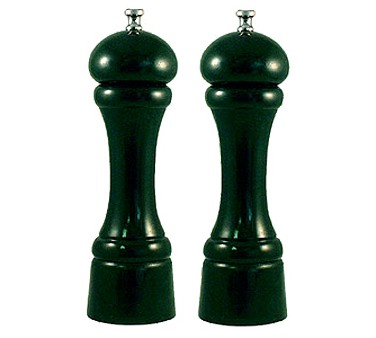 """Chef Specialties 08802 Professional Series Autumn Hues Forest Green Pepper Mill And Salt Mill Set, 8"""""""