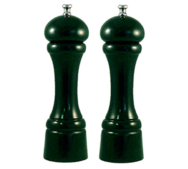 Chef Specialties 08802 Professional Series Autumn Hues Forest Green Pepper Mill And Salt Mill Set, 8""