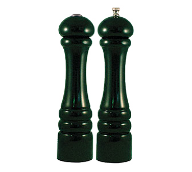 Chef Specialties 10800 Professional Series Autumn Hues Forest Green Pepper Mill and Salt Shaker Set, 10""