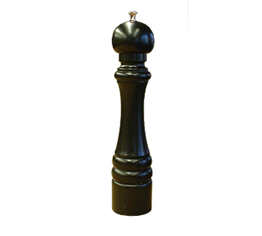 Chef Specialties 12151 Professional Series Professional Series President Ebony Pepper Mill, 12""