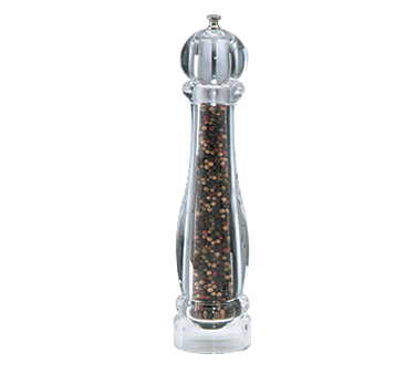 Chef Specialties 29612 Professional Series Ultima Acrylic Tall Pepper Mill, 12""