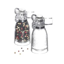 Chef Specialties 29932 Spinner Acrylic Salt Mill, 4 1/2""