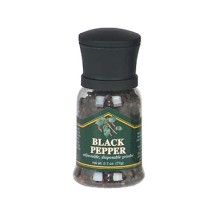 Chef Specialties 90501 Disposable Black Pepper Grinder 2.7 oz.