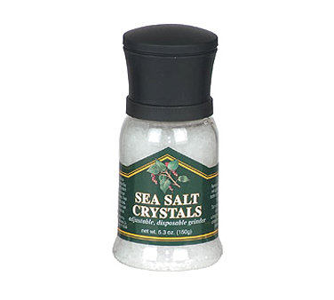 Chef Specialties 90509 Disposable Solar Sea Salt Grinder 5.3 oz.