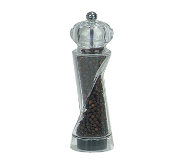 Chef Specialties 92081 Ellipse Acrylic Pepper Mill, 7 1/2""