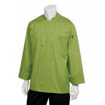 Chef Works 2833 Basic Chef Coat, Genova Lime