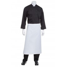 Chef Works B3-WHT Long White Bar Apron