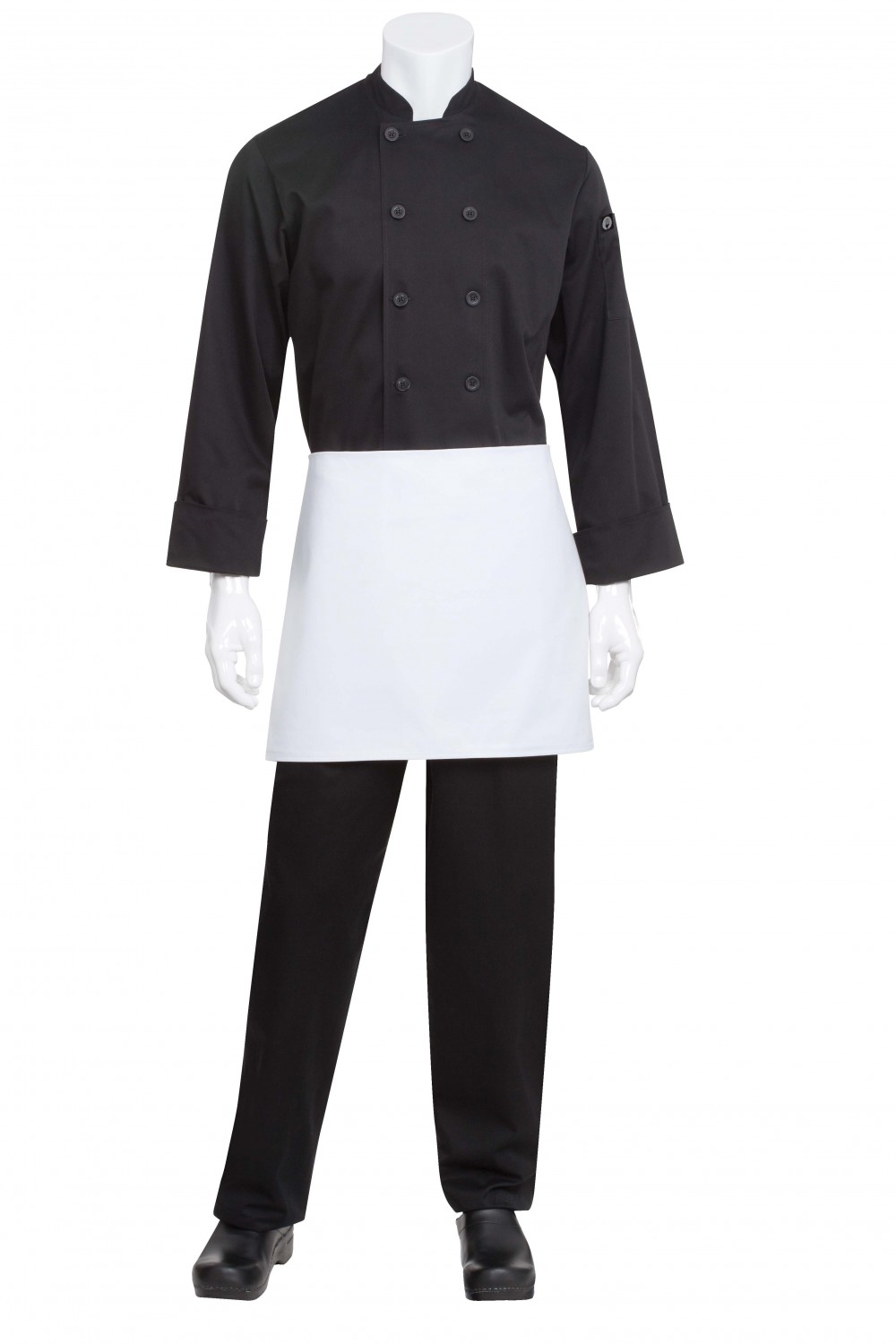 Chef Works B4 White Four-Way Apron