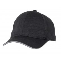 Chef Works BCCT Cool Vent Baseball Cap with Color Trim