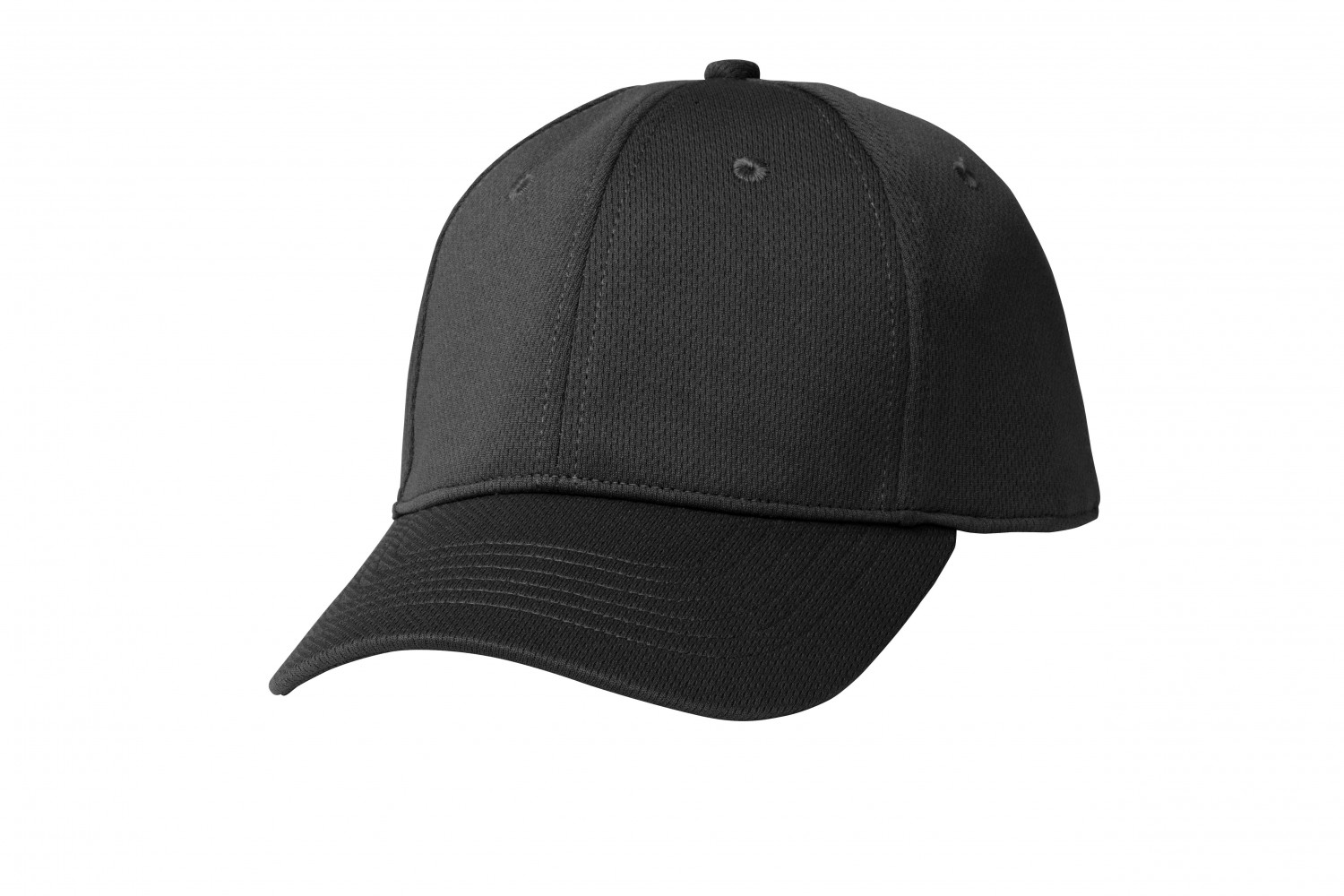 Chef Works BCCV-BLK Total Cool Vent Black Baseball Cap