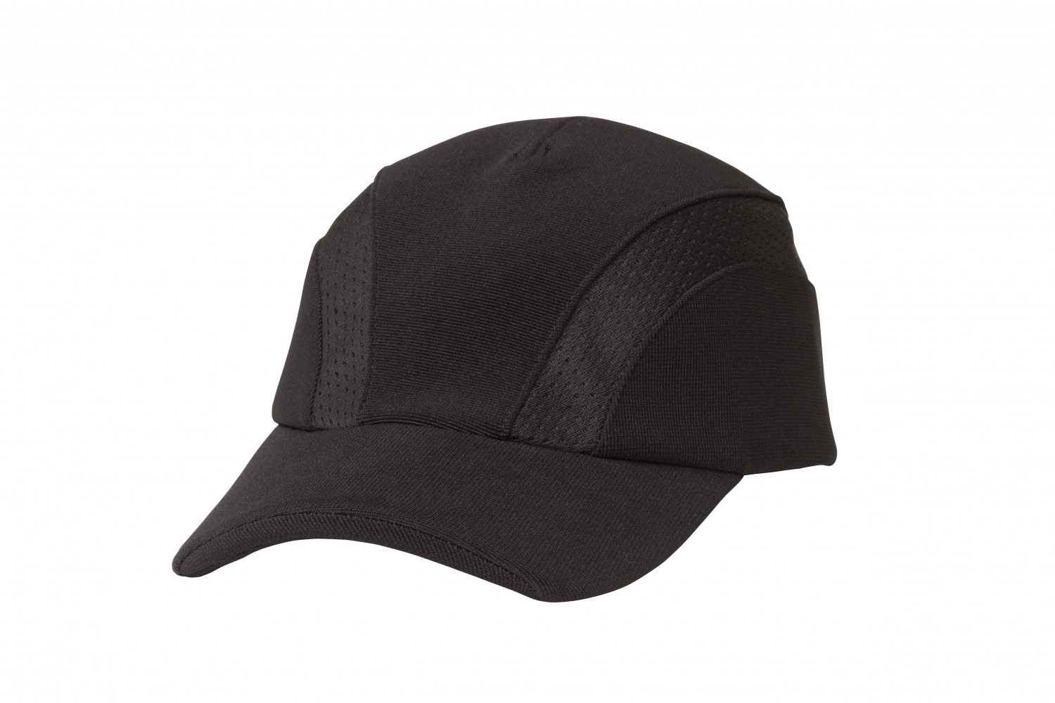 Chef Works BCVI Black Cool Vent Sides Chef Baseball Cap