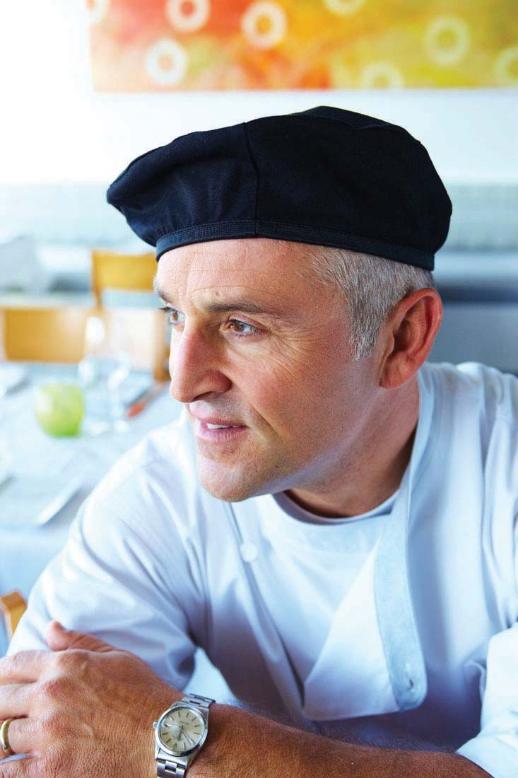 Chef Works BEBL Poly/Cotton Black Beret