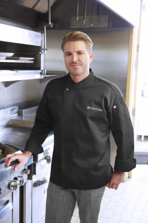 Chef Works BLDF New Yorker Cool Vent Executive Chef Coat
