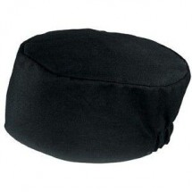 Chef-Works-BNBK-Poly-Cotton-Black-Basic-Skull-Cap-Beanie