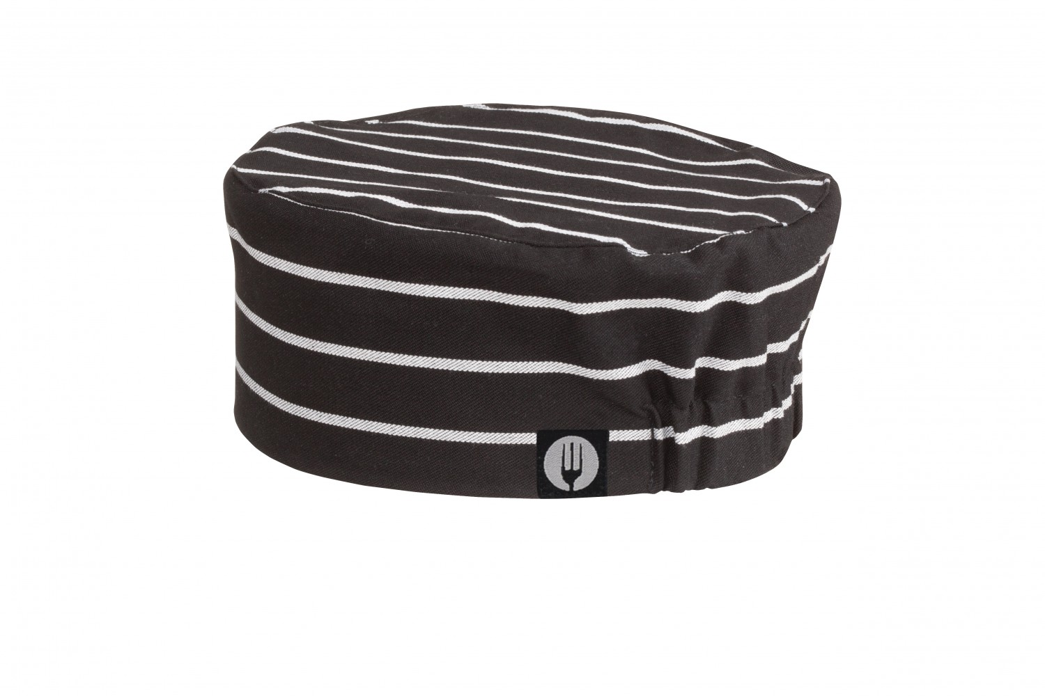 Chef Works BNCS Poly/Cotton Chalk Stripe Skull Cap Beanie