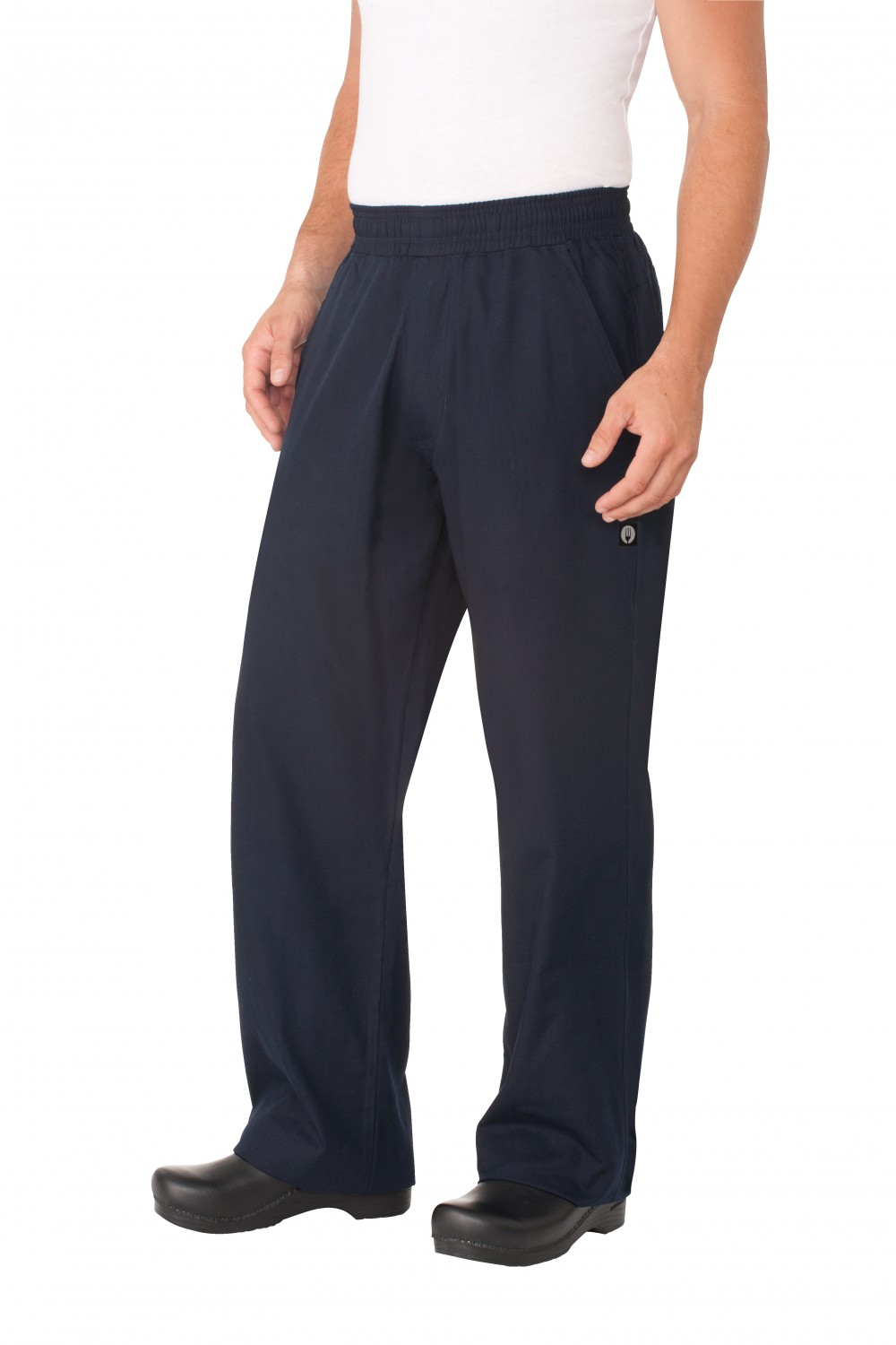 Chef Works BSOL-NVY UltraLux Better Built Baggy Pants, Navy
