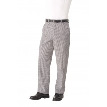 Chef Works BWCP Black and White Check Traditional Chef Pants