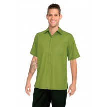 Chef-Works-C100-LIM-Poly-Cotton-Cafe-Shirt--Lime