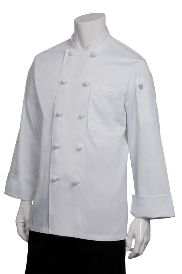 Chef Works CBCC Colmar Cotton Basic Chef Coat