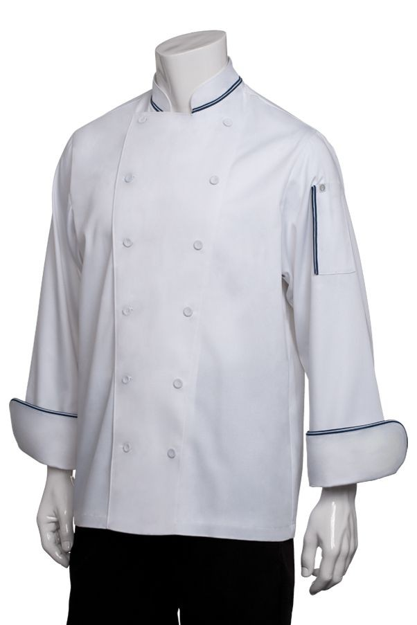 Chef Works CBIJ Garda Executive Chef Coat
