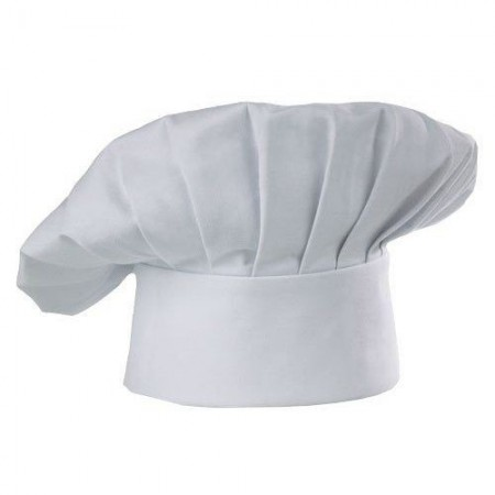 Chef Works CHAT Poly/Cotton White Chef Hat