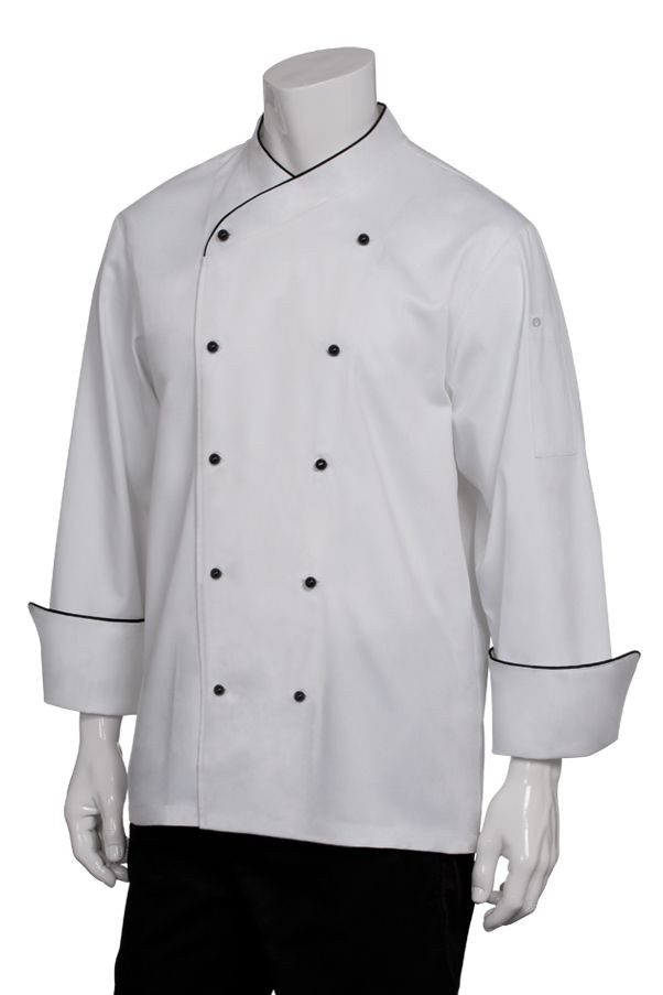 Chef Works COBT Champagne Executive Chef Coat