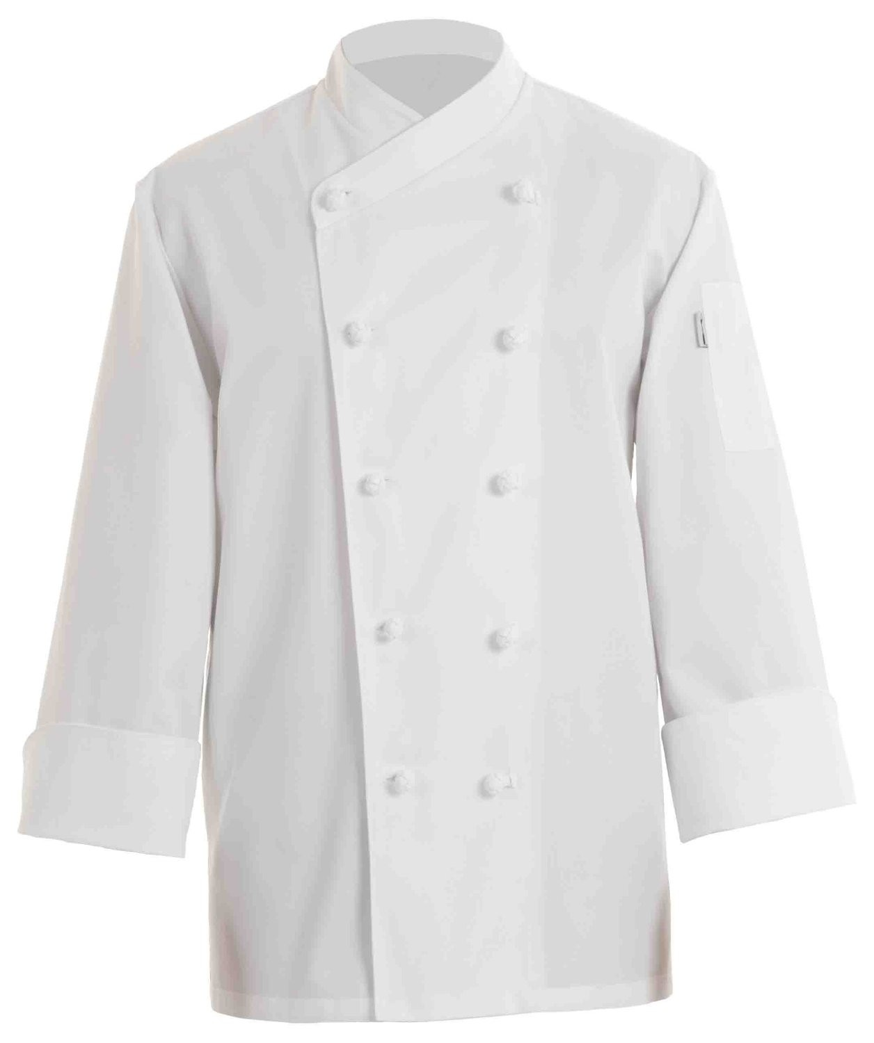 Chef Works COPK Nice Basic Chef Coat. White