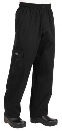 Chef Works CPBL Black Cargo Chef Pants
